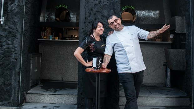 Janaína e Jefferson Rueda, fundadores da Casa do Porco (Foto: Divugação)