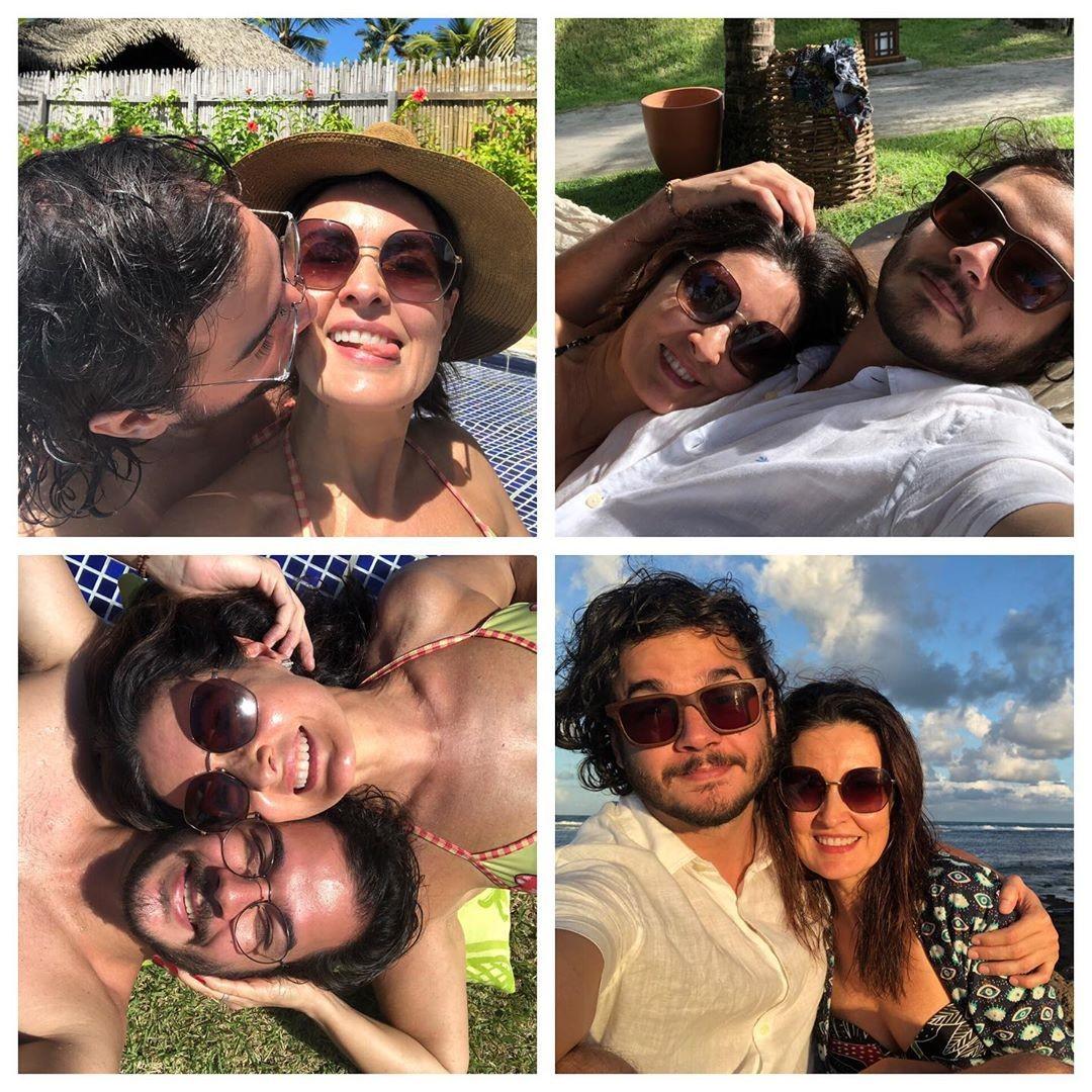Túlio Gadêlha e Fátima Bernardes (Foto: Reprodução/Instagram)