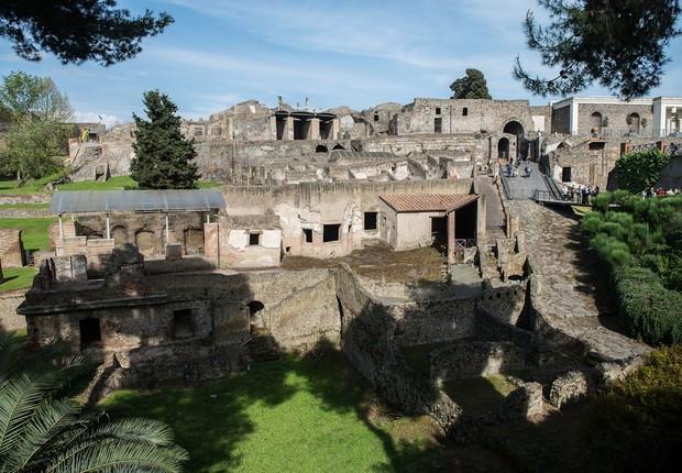 Sítio arqueológico de Pompeia (Foto: Giorgio Cosulich/Getty Images)