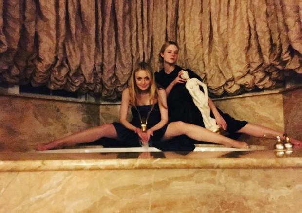 Elle Fanning e Dakota Fanning (Foto: Reprodução/Instagram)