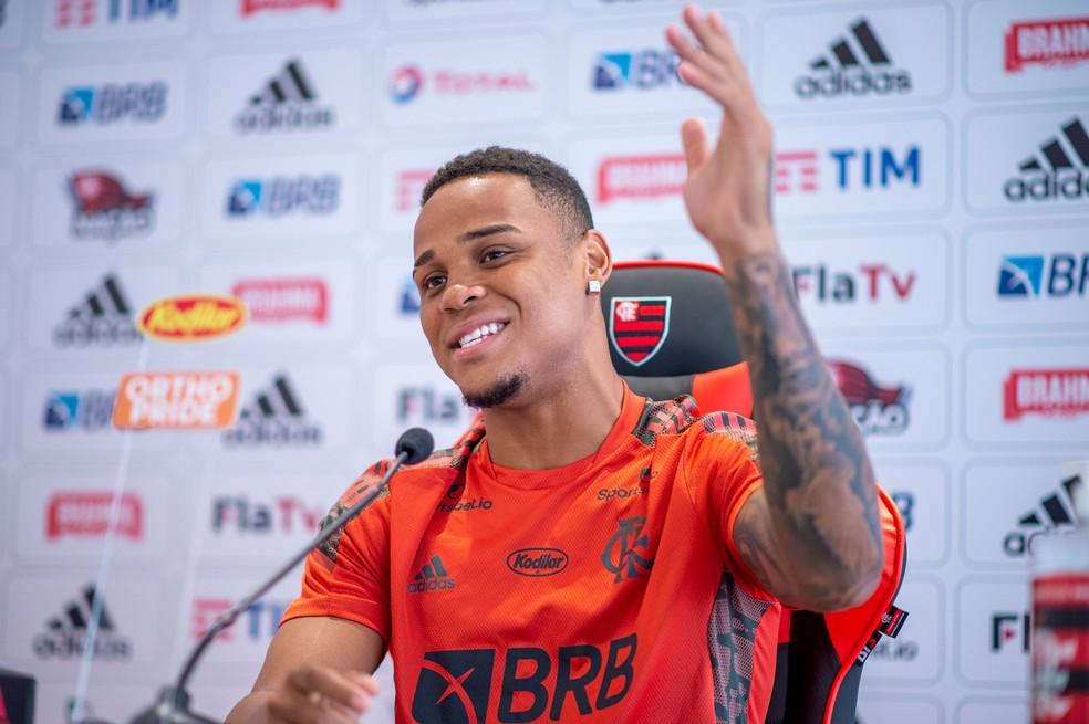 Natan: braçadeira de capitão é meu trabalho que vem evoluindo e confiança do Flamengo em mim