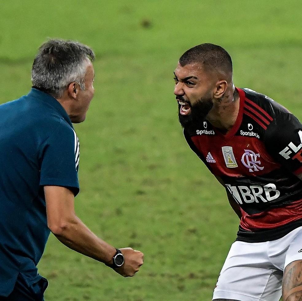 Flamengo busca equilíbrio na relação rodízio, Dome e Gabigol