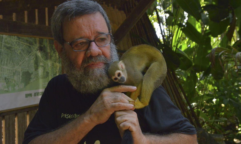 Paulo Amorim, administrador de reserva de animais silvestres no Amapá (Foto: Paulo Amorim/RPPN/Revcom/Domínio Público)
