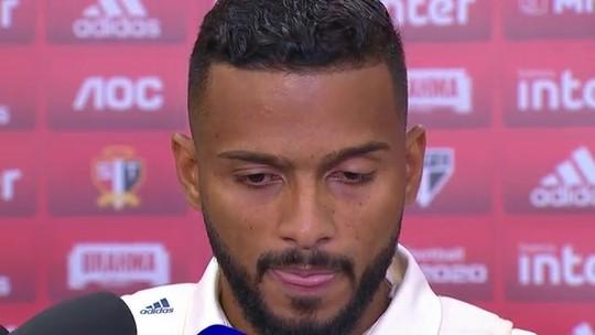 """Herói do São Paulo contra o Corinthians, Reinaldo diz: """"Nunca imaginei ser vice-artilheiro"""""""