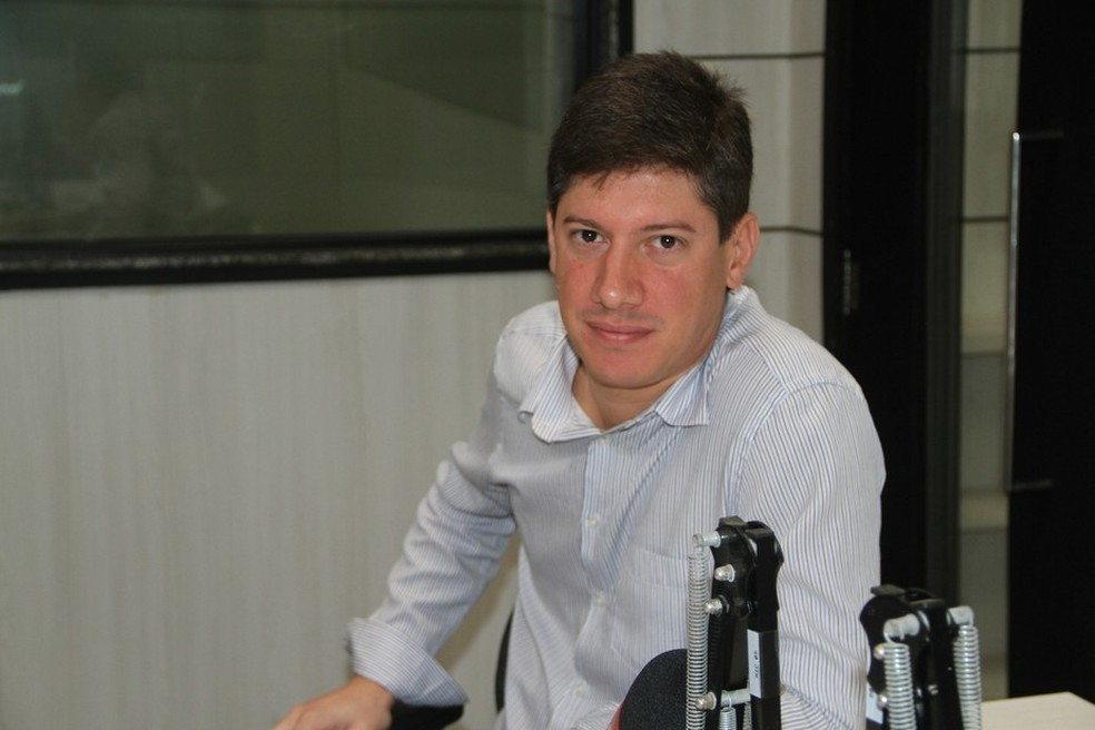 Diretor executivo do SP Crystal, Eduardo Araújo morre aos 33 anos por Covid-19, na PB — Foto: Cisco Nobre/GloboEsporte.com