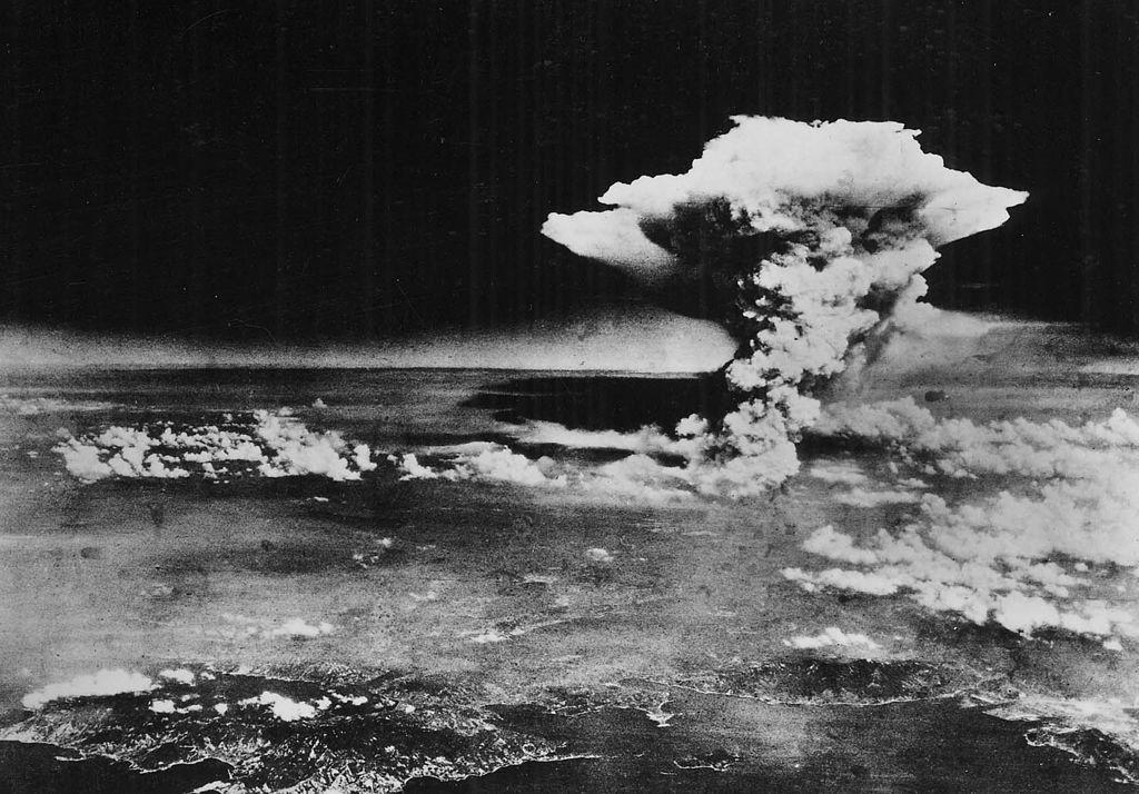 Nuvem atômica resultante da explosão da bomba de Hiroshima (Foto: Wikimedia Commons)
