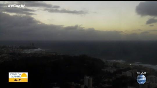 Veja a previsão do tempo para Salvador e cidades do interior da Bahia
