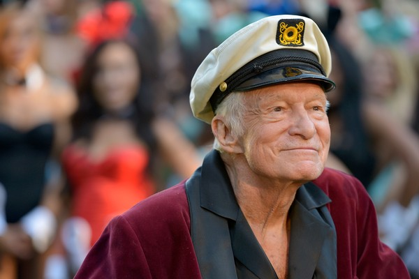 O empresário Hugh Hefner (Foto: Getty Images)