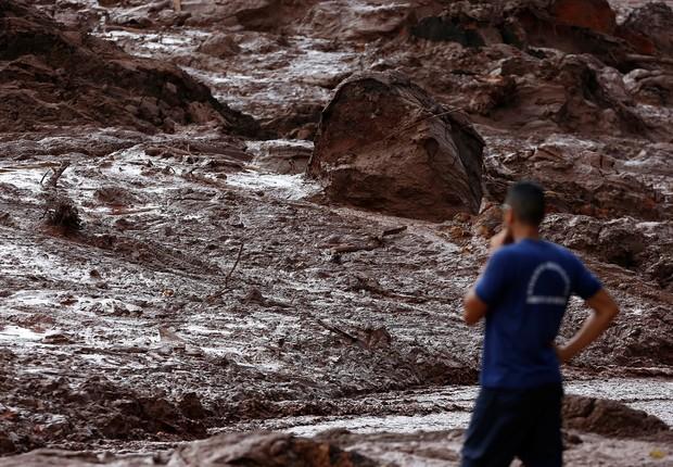 Área atingida pelo rompimento de barragem em Brumadinho (MG) (Foto: REUTERS/Adriano Machado)