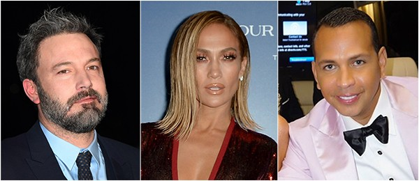 Ben Affleck, Jennifer Lopez, Alex Rodriguez (Foto: Getty Images)