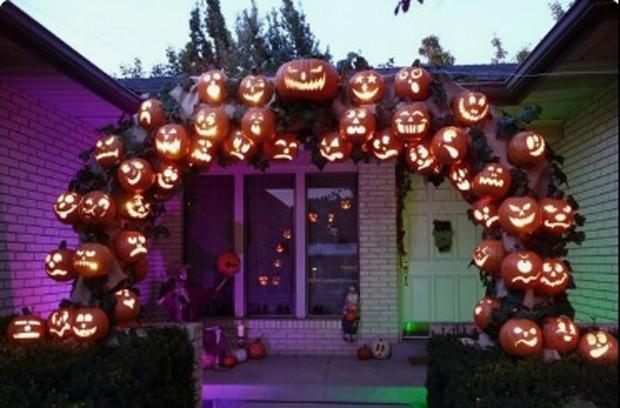 Halloween: Luminárias de abóbora (Foto: Pinterest/Reprodução)