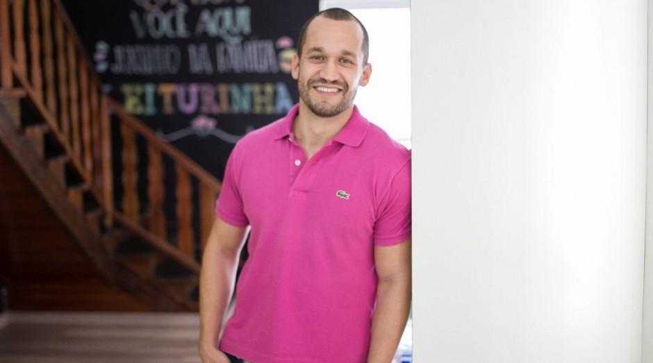 O empreendedor Rodolfo Reis fundou, em 2014, o clube de assinatura de livros infantis Leiturinha (Foto: Divulgação)