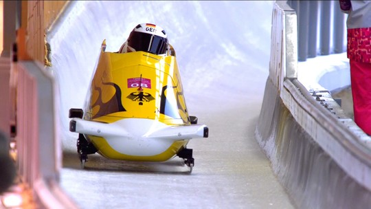 Bobsled - Trenó de 4 - Masculino - Final