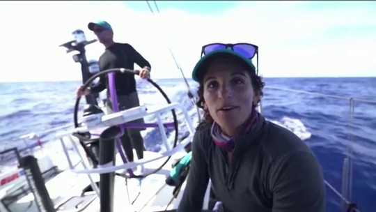 Martine Grael enfrenta os desafios da regata de volta ao mundo