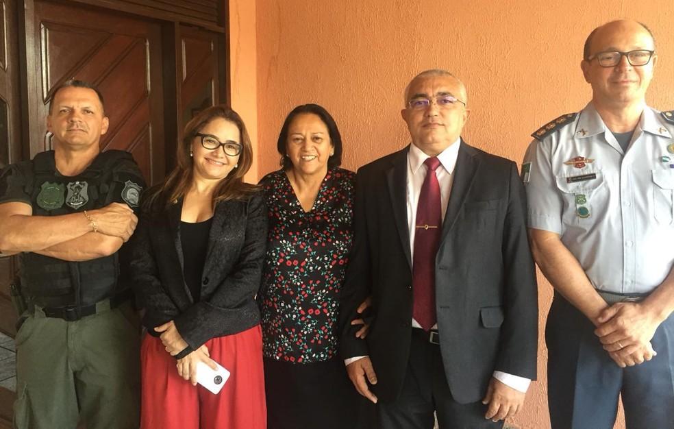 Governadora eleita anuncia nomes para a Segurança do RN — Foto: Equipe de transição do Governo do RN