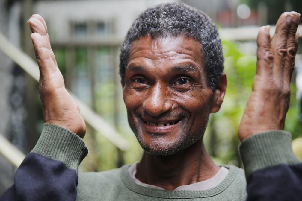 Capoeira encontrou a idosa nesta quarta — Foto: Marcos Serra Lima