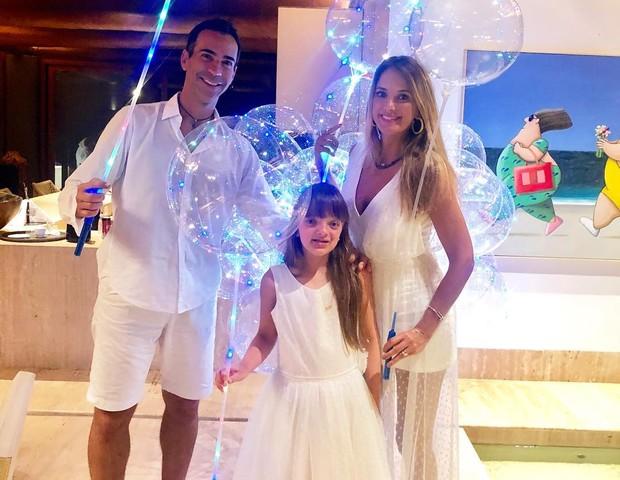César Tralli, Ticiane Pinheiro e Rafinha (Foto: Reprodução Instagram)