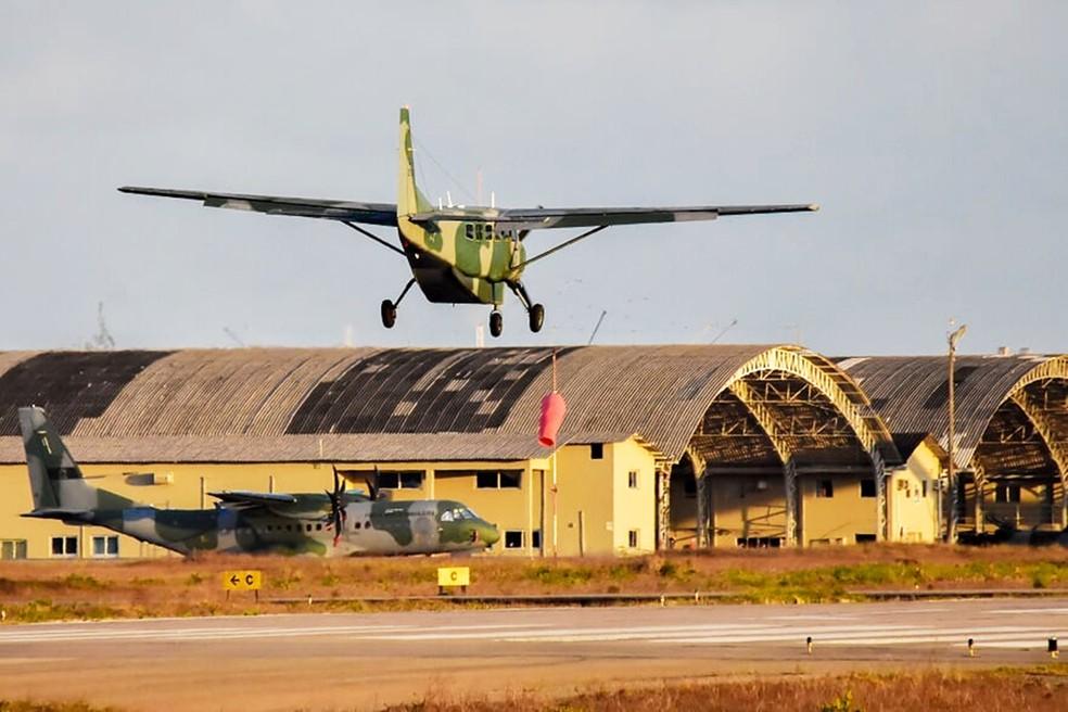 Aviões da Força Aérea Brasileira no CRUZEX 2018  — Foto: Pedro Vitorino