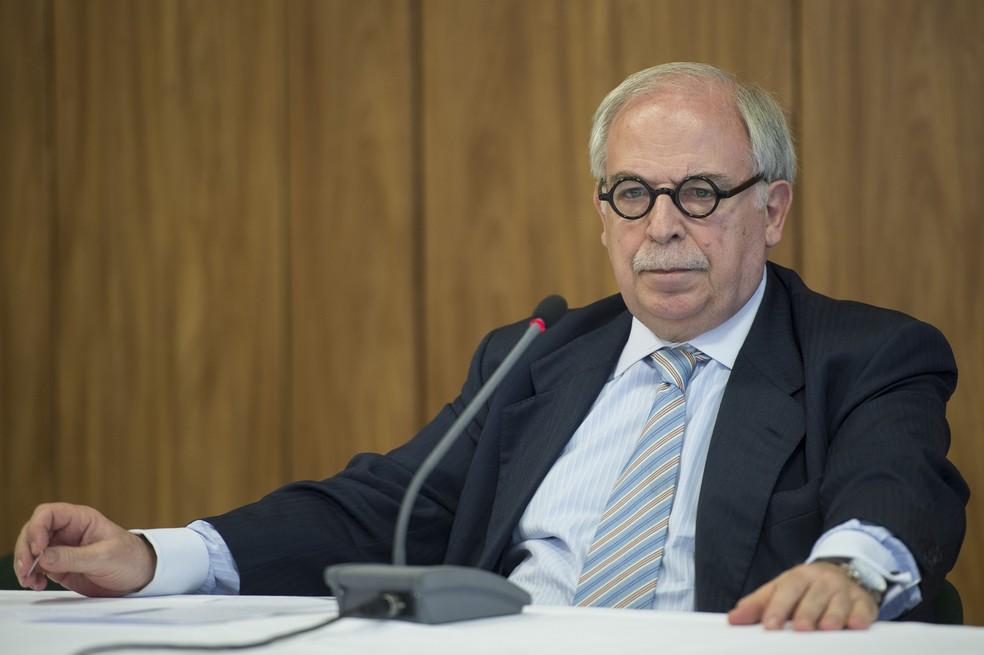 O ex-assessor especial de Lula e de Dilma Marco Aurélio Garcia, durante entrevista em janeiro de 2015 (Foto: Marcelo Camargo/Agência Brasil)