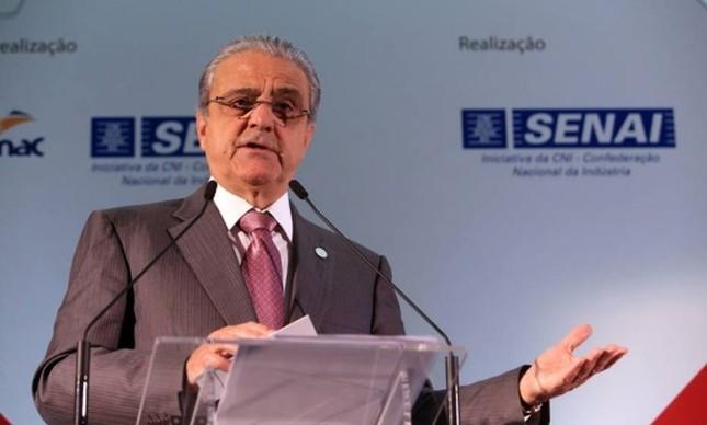 O presidente da Confederação Nacional Indústria (CNI), Robson Andrade