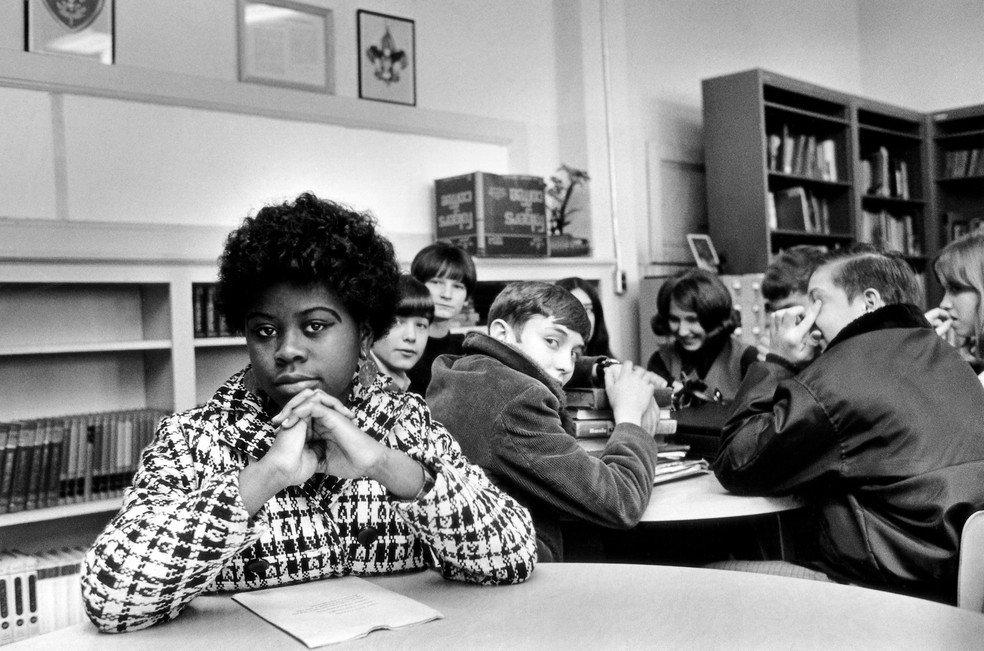 Foto sem data mostra Linda Brown (Foto: AP Photo, File)