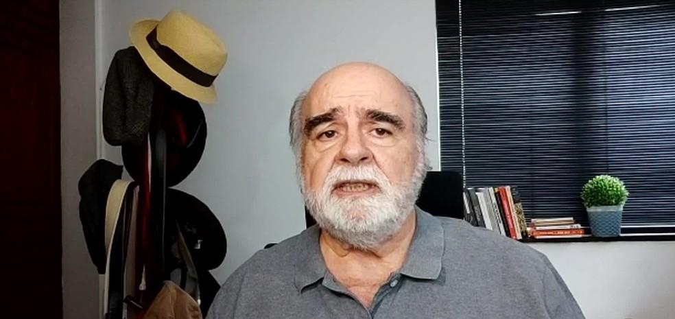Zeca Borges, coordenador do Disque Denúncia — Foto: Reprodução/ TV Globo