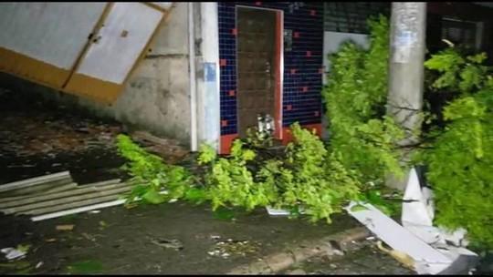Fortes chuvas castigam São Paulo desde a  madrugada