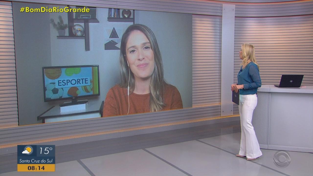 Confira os destaques do esporte no Bom Dia Rio Grande desta sexta-feira (20)