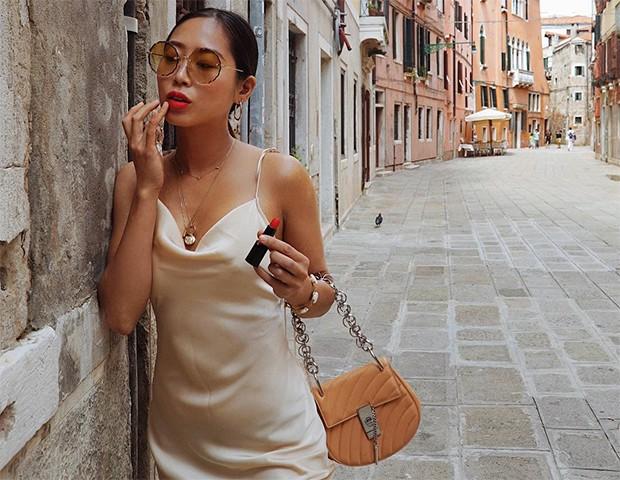 Acompanhe a temporada de moda pelo olhar destas fashion girls (Foto: Instagram / Aimee Song)