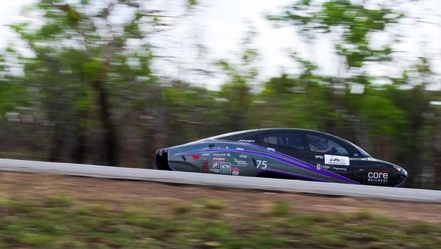 Violet, carro desenvolvido pelo projeto Sunswift (Foto: Sunswift/Divulgação)