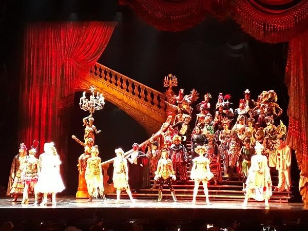 O Fantasma da Ópera (Foto: Marley Galvão)