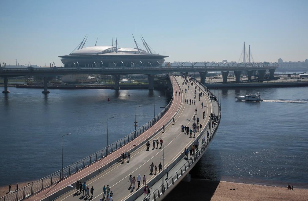 Efeitos positivos das obras de infraestrutura serão limitados para a economia da Rússia, segundo a Moody's (Foto: Reuters)