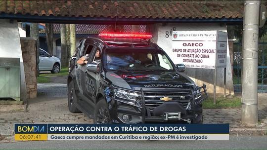 Gaeco faz operação contra tráfico de drogas em Curitiba e Pinhais