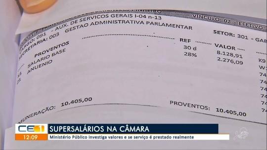 Ministério Público investiga super salários Câmara de Juazeiro do Norte