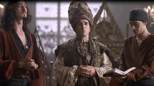 Orlando anula o casamento de Lucrécia e Rodolfo