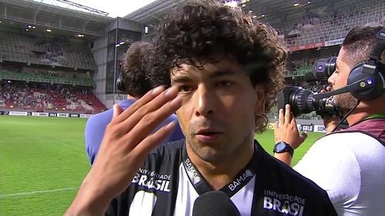 """Luan diz que """"balançou"""" com proposta do Corinthians e deixa futuro nas mãos do Atlético-MG"""