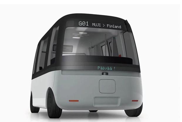 Ônibus autônomo para qualquer condições climáticas será lançado na Finlândia (Foto: Divulgação)