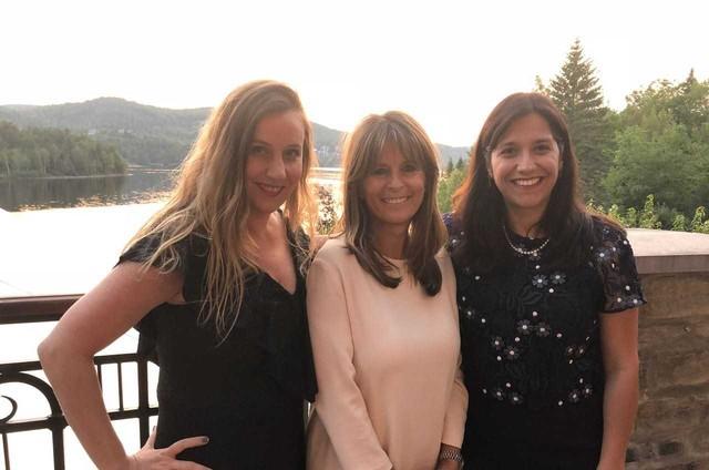 Patrícia Moretzsohn, Natalia Grimberg e Fabienne Larouche (Foto: Kathleen Préfontaine)