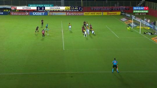 Atuações do Vitória: confira os destaques do time diante do Criciúma pela Série B