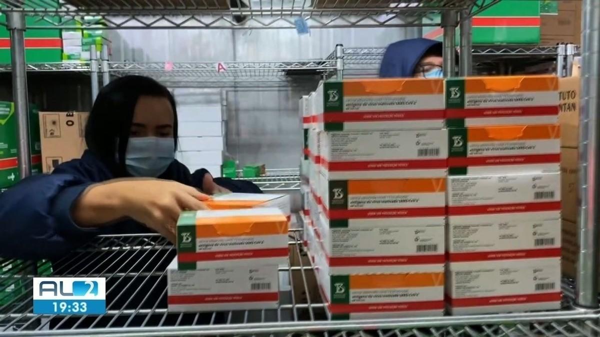 104.330 novas doses de vacinas contra Covid chegam a Alagoas
