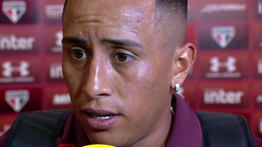 Cueva respeita vaia da torcida, mas diz que confia em elenco do São Paulo