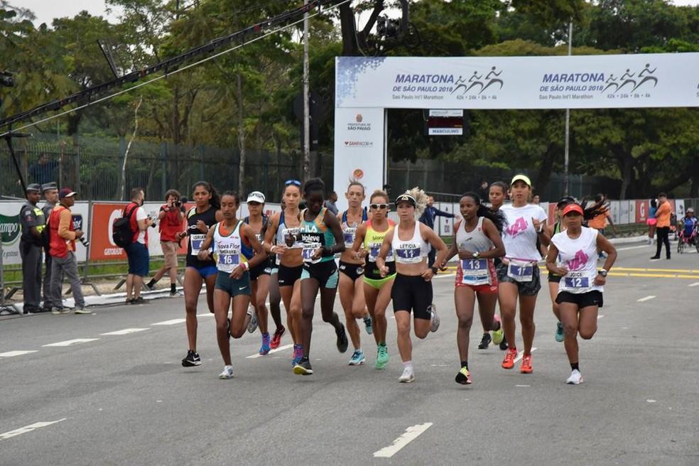 Maratona Internacional de São Paulo 2018 — Foto: Divulgação / Yescom