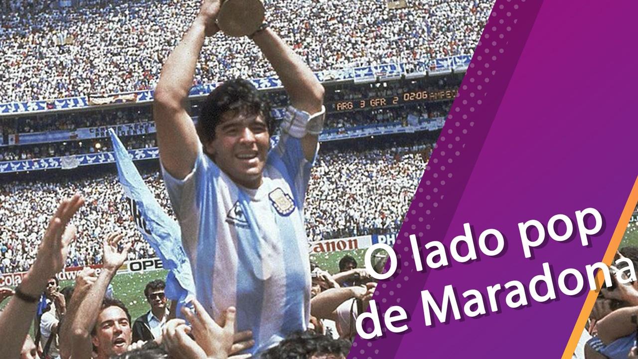 Semana Pop mostra lado pop de Maradona, enaltecido em filmes, músicas e até nos quadrinhos