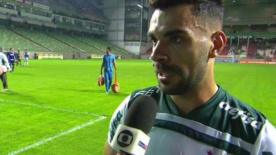 """Bruno Henrique lamenta chances perdidas: """"Faltou caprichar um pouquinho mais"""""""