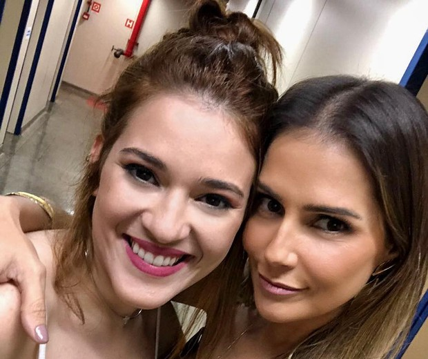 Aana Clara e Deborah Secco (Foto: Reprodução/Instagram)