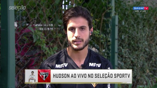 "Hudson valoriza união dentro do líder São Paulo: ""Estamos no caminho certo"""