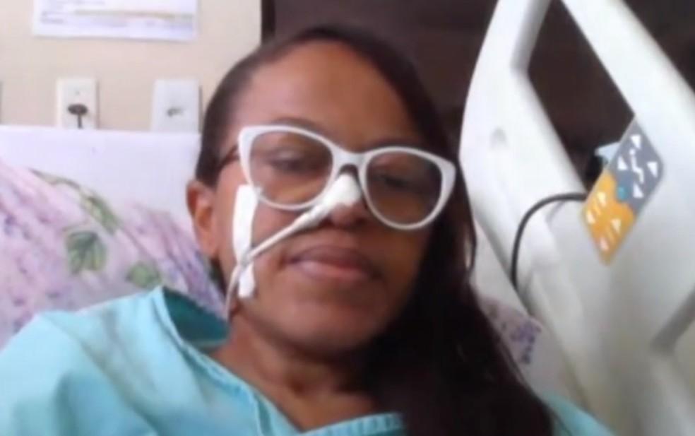 Mulher que perdeu três filhos por doença genética na BA pede ajuda para seguir com tratamento  — Foto: Reprodução/TV Subaé