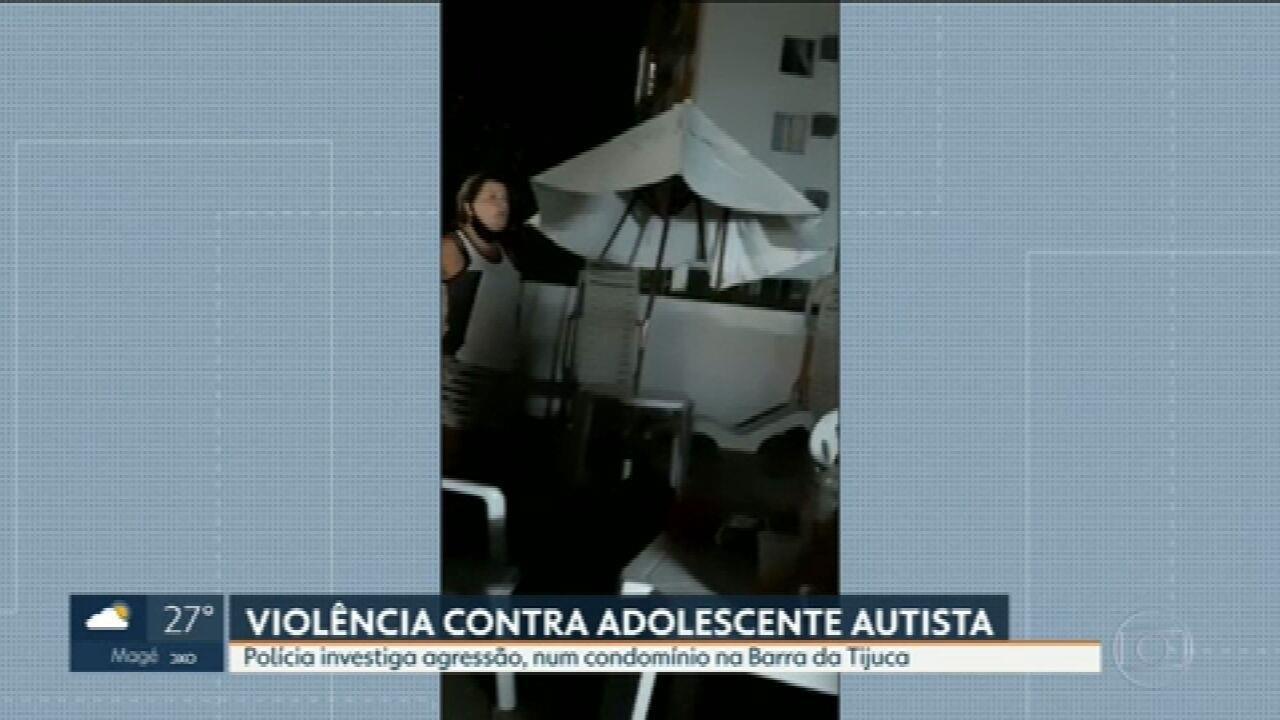 Polícia abre inquérito para apurar imagens em que mulher arrasta adolescente autista na Barra