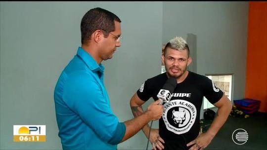 Troca de papéis: após ano invicto, Luís Felipe Buda vira professor e dá aulas de MMA para se manter