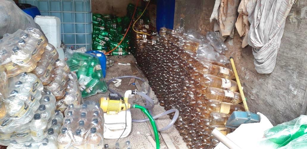 Operação de combate a adulteração de bebidas alcoólicas é deflagrada em Ubá